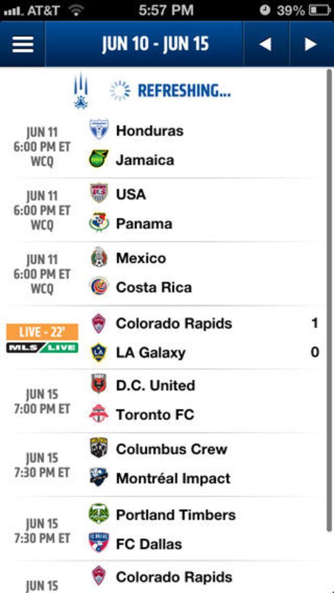 MLS Matchday