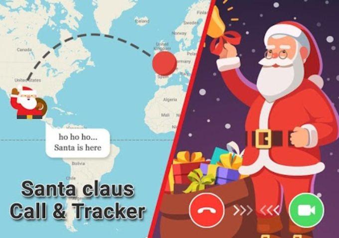 Video Call from Santa Claus & Santa Tracker