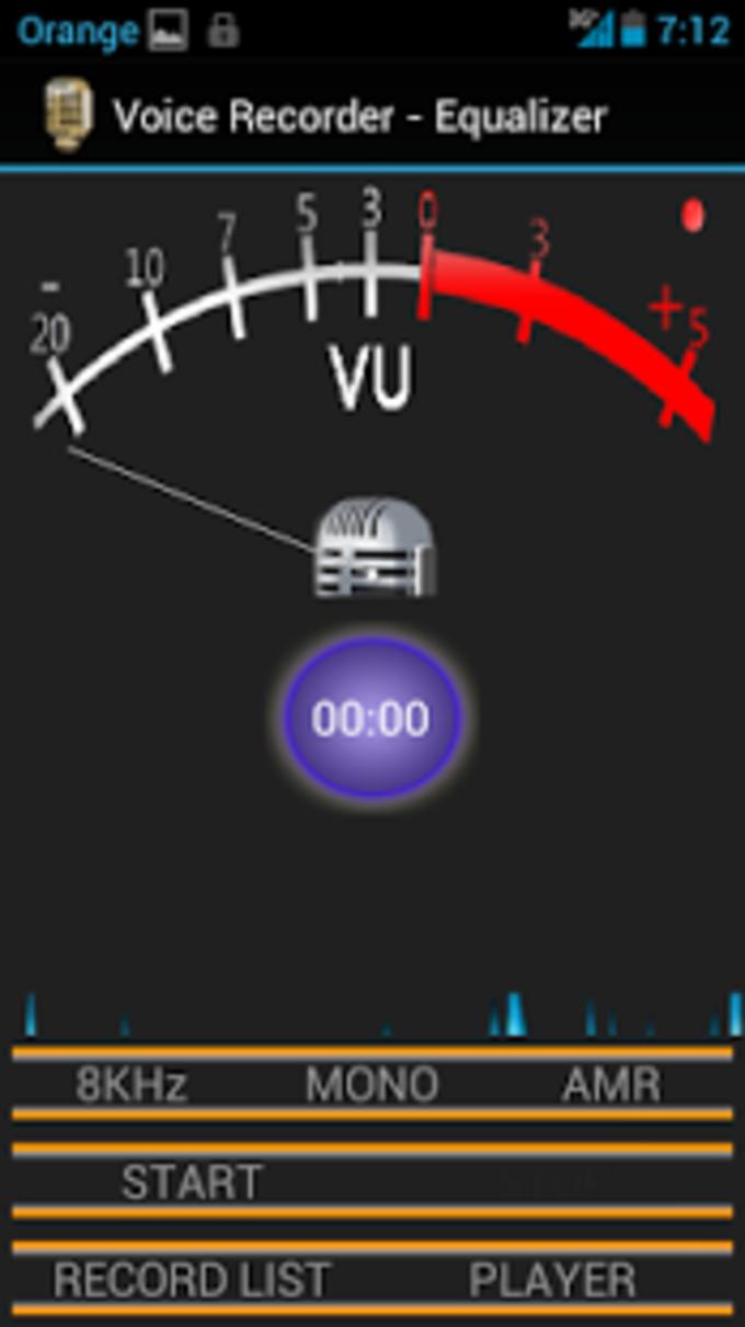 Grabadora Voz con Ecualizador