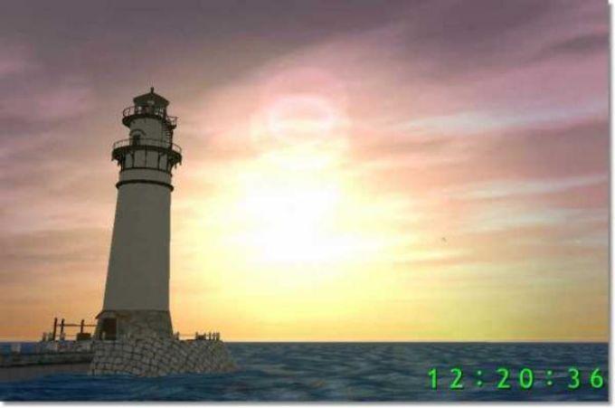 Lighthouse 3D Screensaver