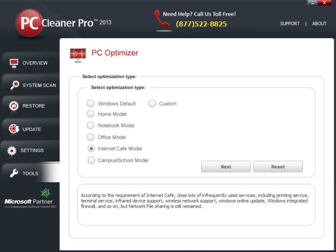 PC Cleaner Pro 2013
