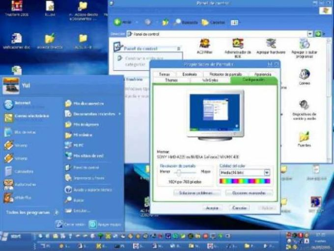 Windows Longhorn Visual Style