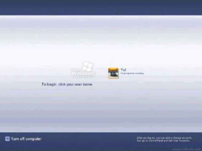 LonghornUI 4008 Logon Screen