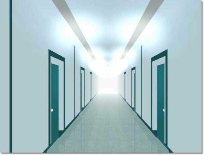 3D Matrix Corridors Screensaver