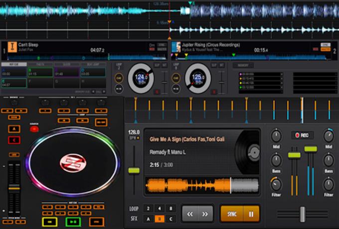 Mobile DJ Mixer