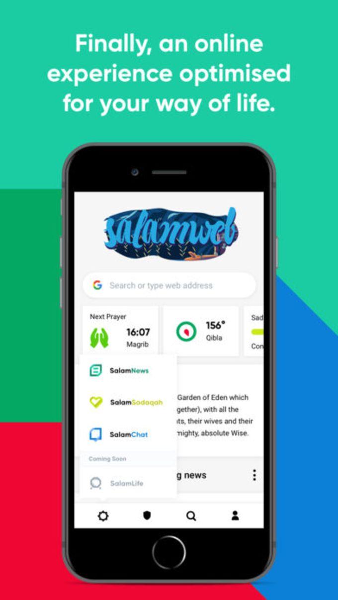 SalamWeb: Browser for Muslims