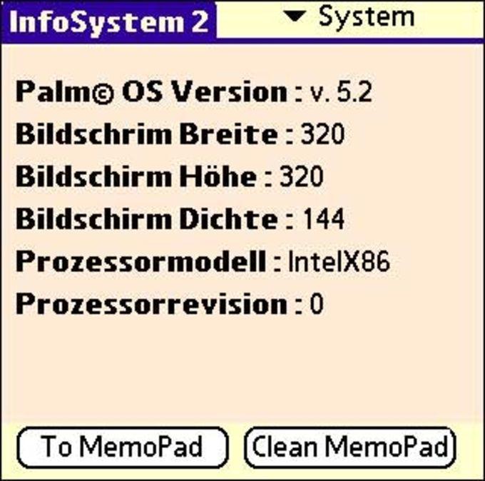 InfoSystem 2