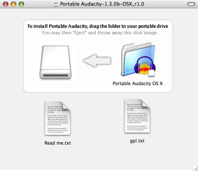 Portable Audacity