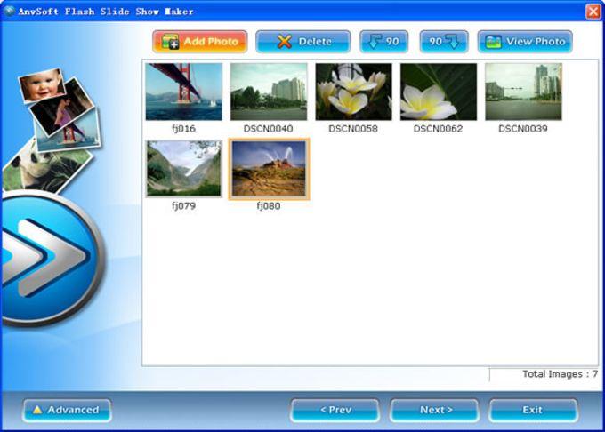 Flash Slideshow Maker