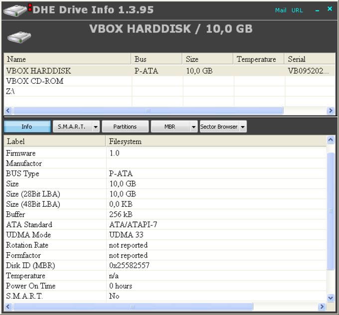 DriveInfo