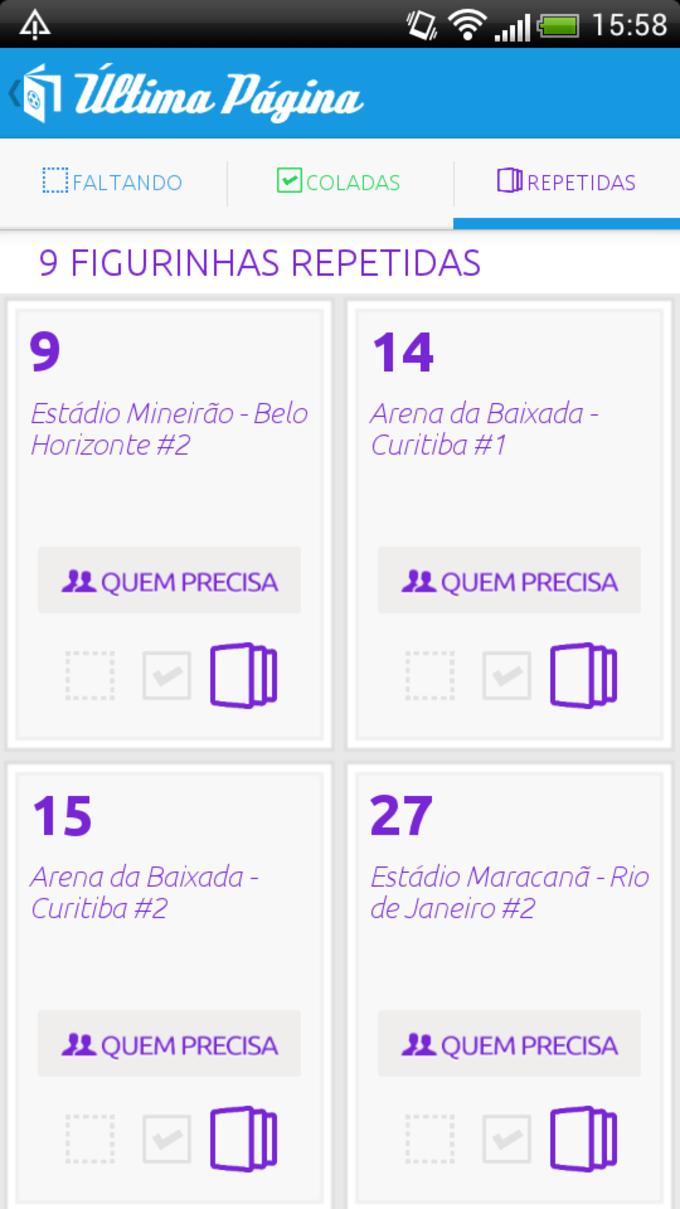 Última Página - Copa 2014