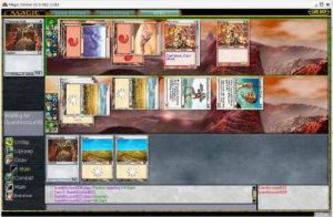 Magic, The Gathering Online
