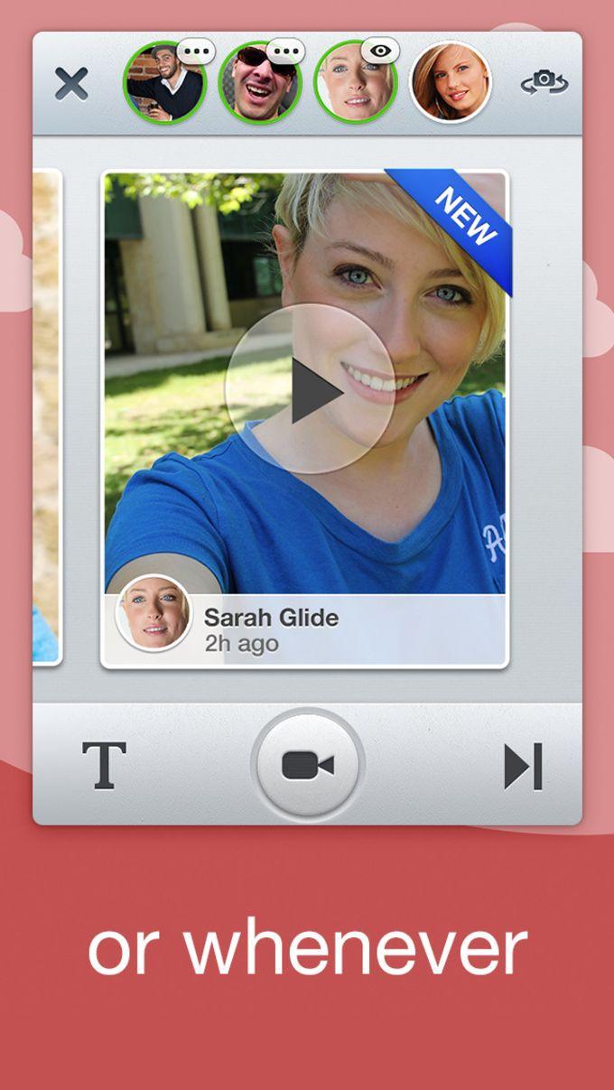 Glide - messages vidéo