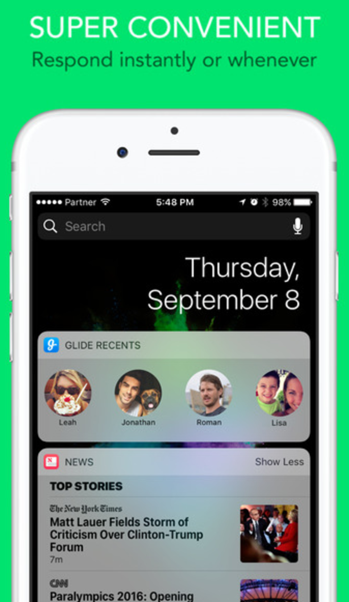 Glide - Video Texting