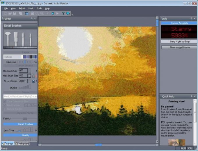 Dynamic Auto-Painter