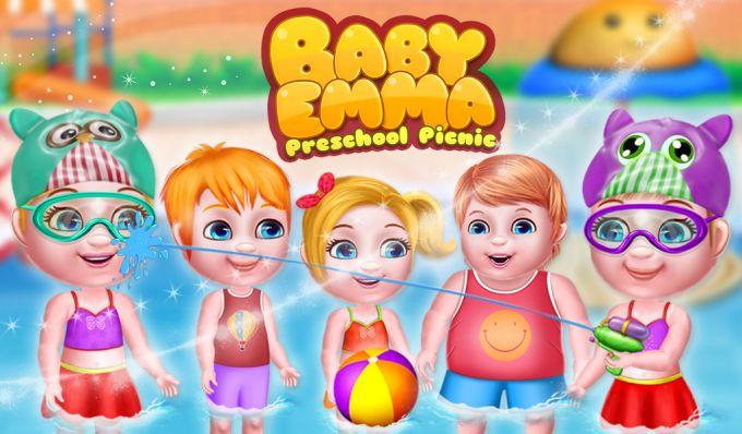Baby Emma Preschool Picnic