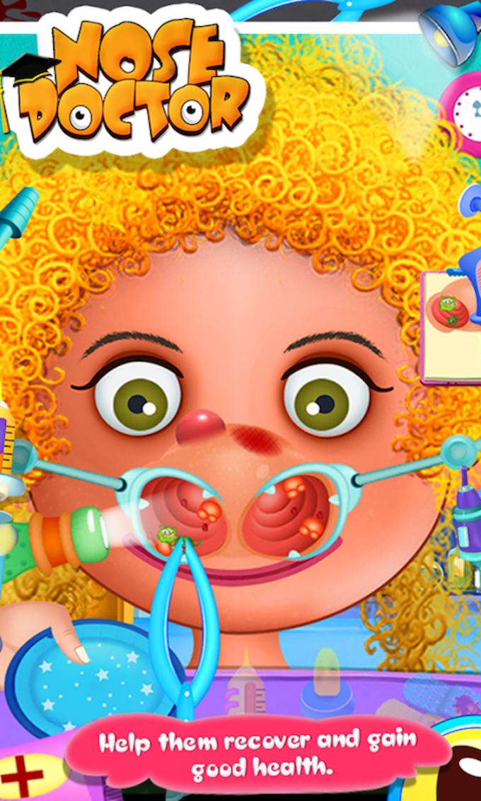 Nose Doctor - Kids Game