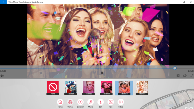 Video Maker, Video Editor and Beauty Camera