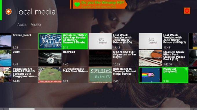 Winamp HD
