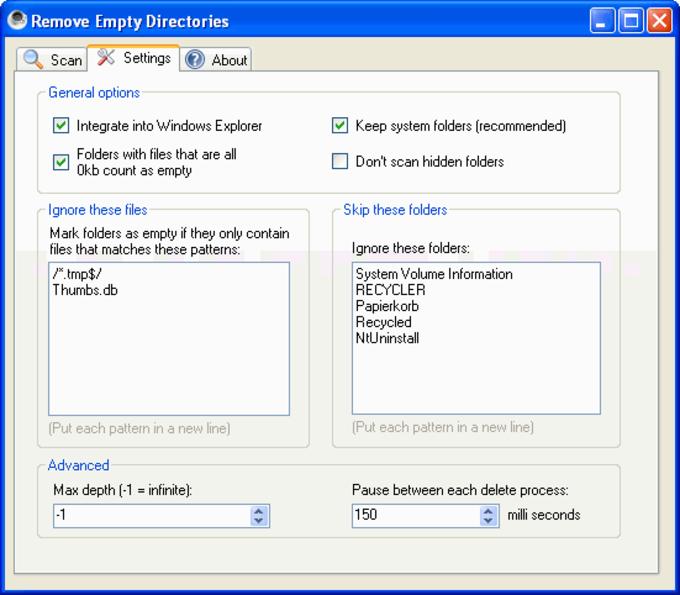 Remove Empty Directories