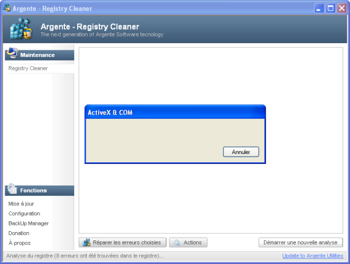 Argente Registry Cleaner