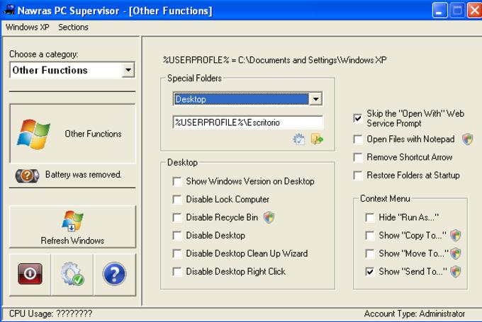 Nawras PC Supervisor