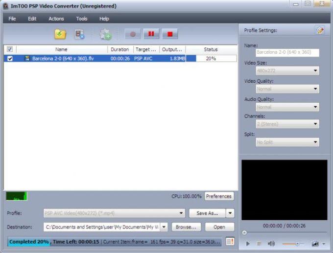 ImTOO PSP Video Converter