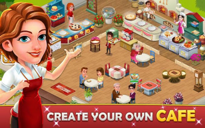 Cafe Tycoon  Cooking  Restaurant Simulation game