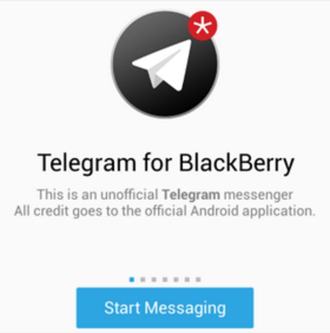 Telegram para BlackBerry