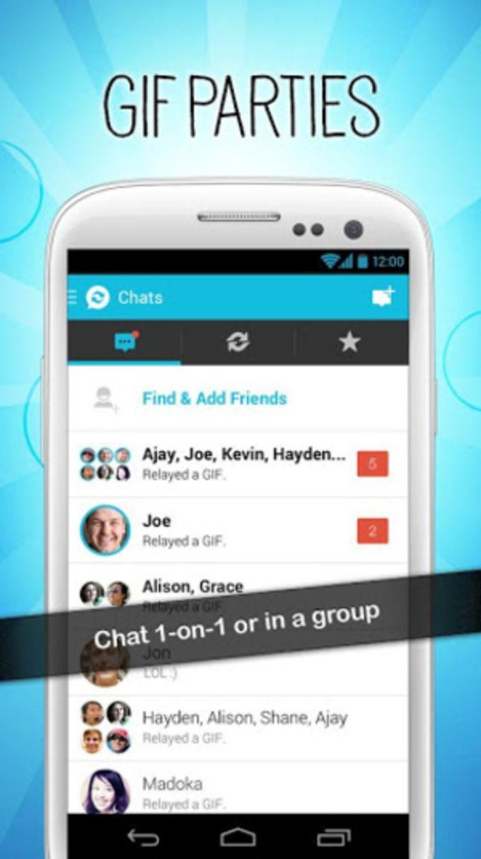 Relay - Mensagens com GIFs