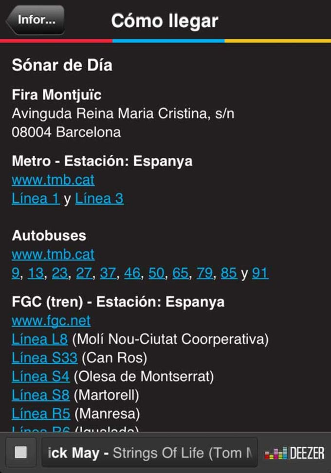 Sónar Festival 2013 Official