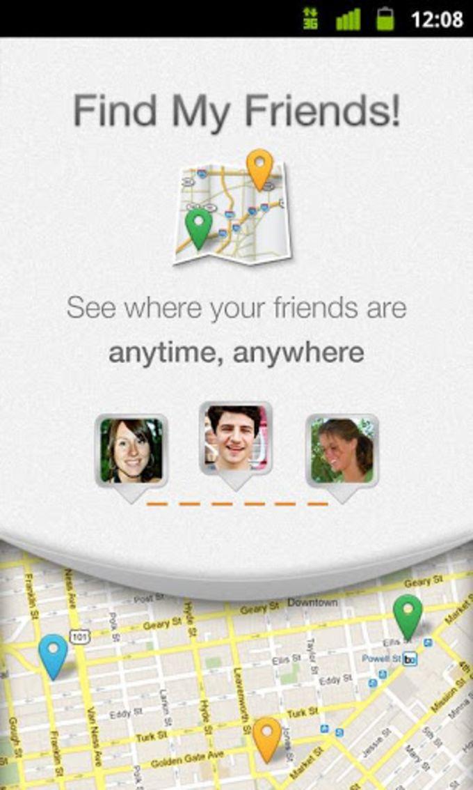 Find My Friends!