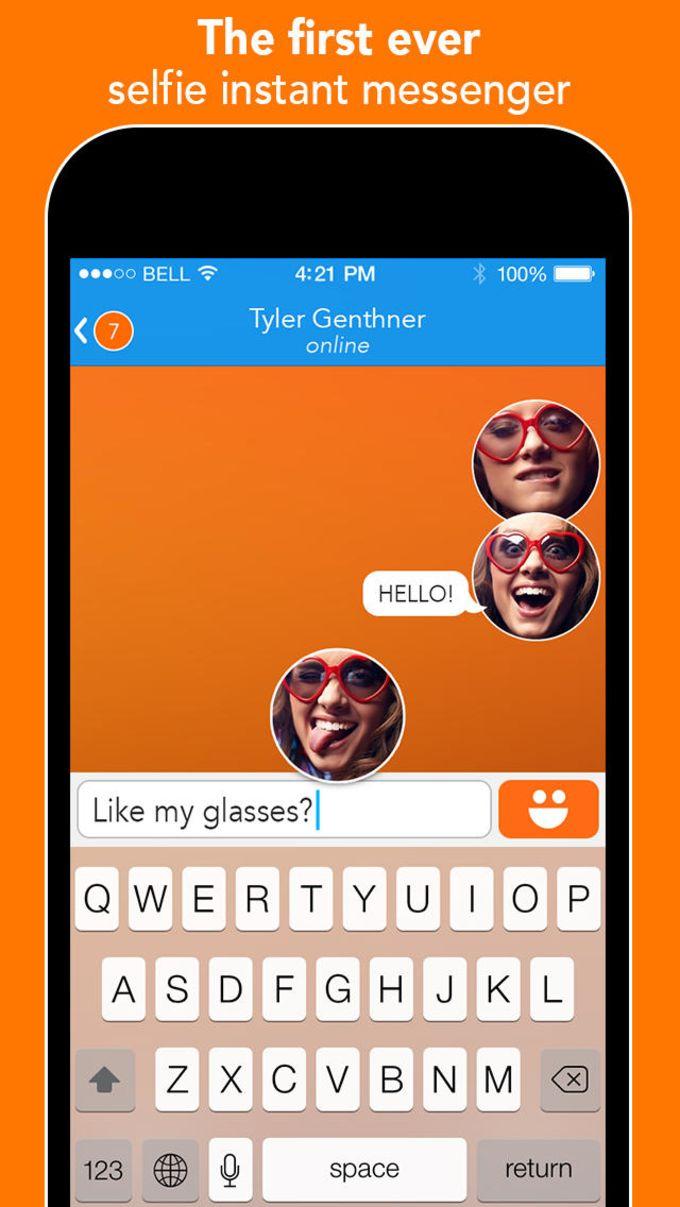 React - The Selfie Messenger