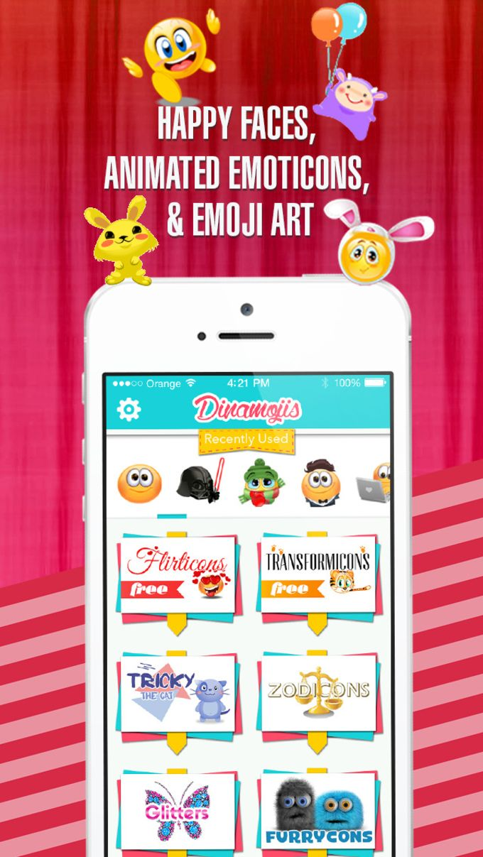 Dinamojis - Animated Stickers and Emojis for iMessage