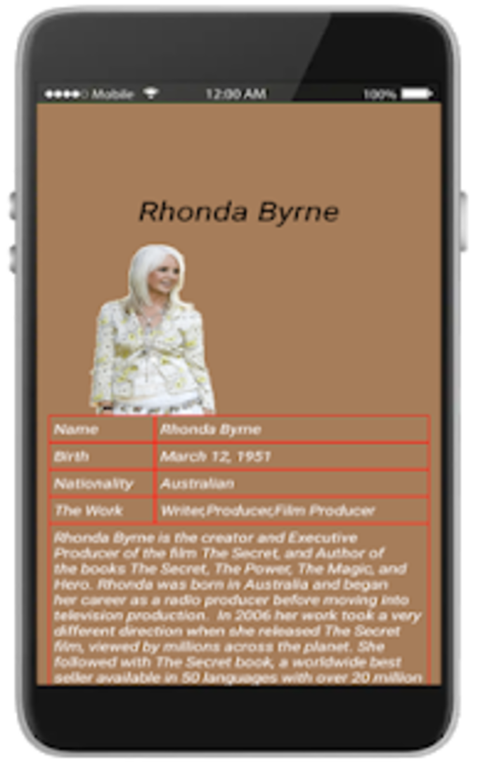 the secret book free by rhoneda for Android - Download