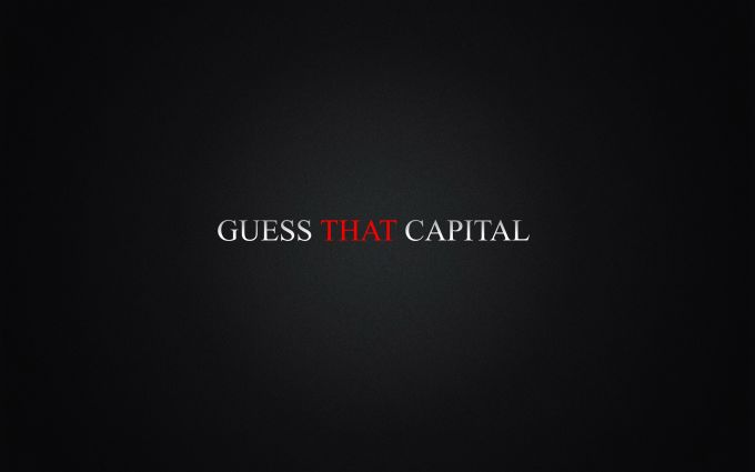 Guess That Capital