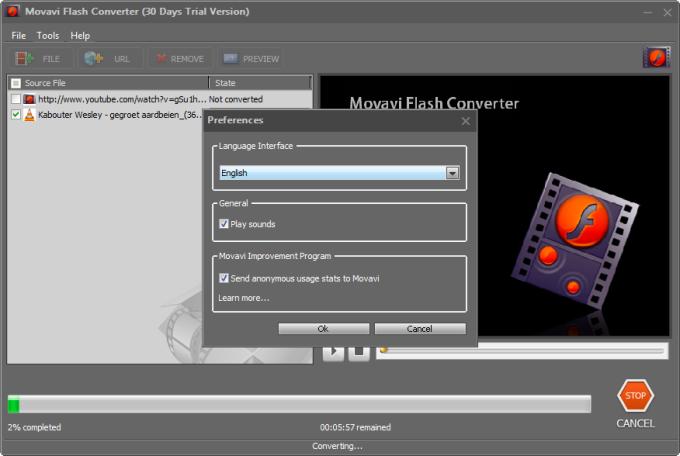 Movavi Flash Converter