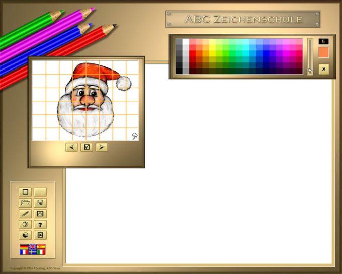 ABC Zeichenschule V – Weihnachten