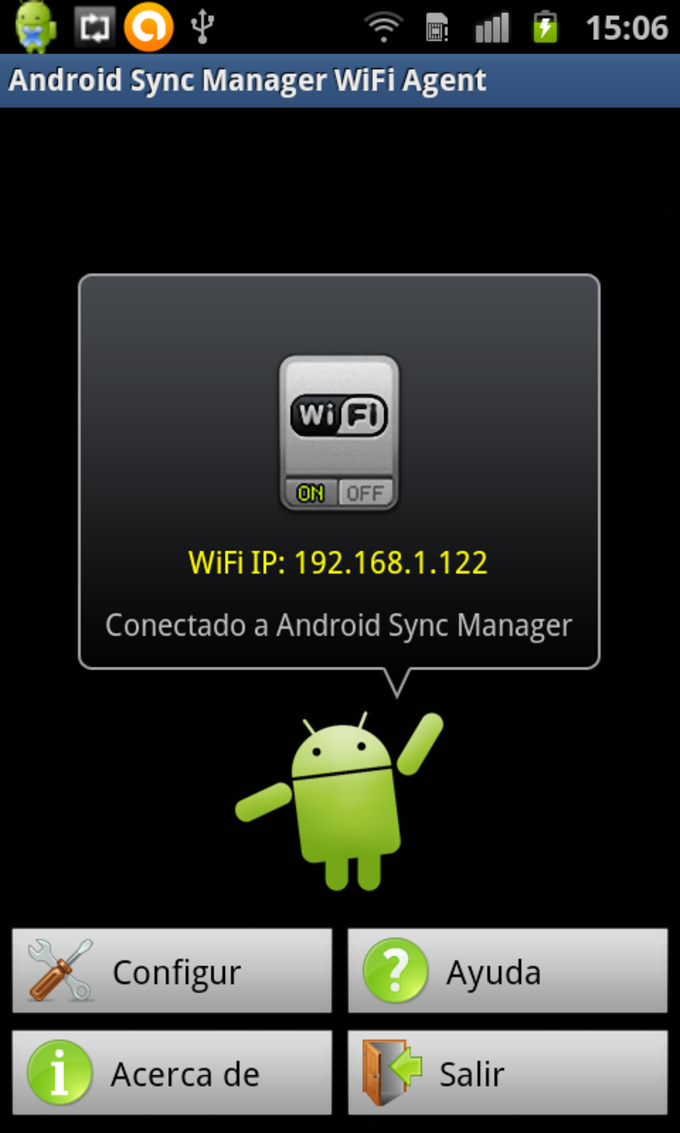 Android Sync Manager Agent