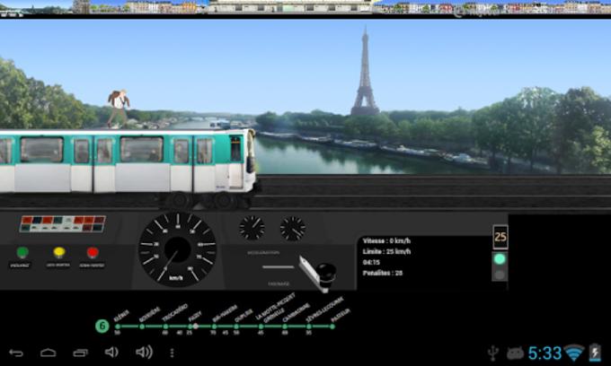 Simulateur Métro de Paris
