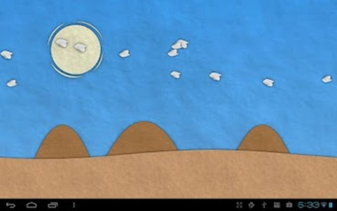 Paperland Live Wallpaper