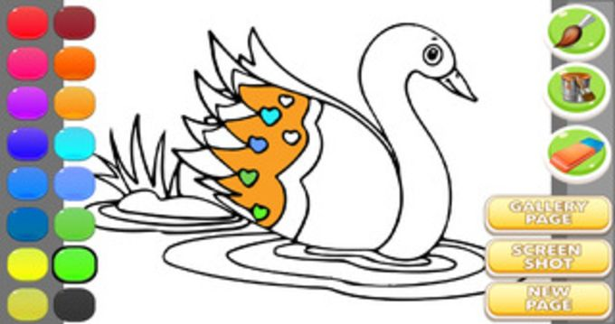 Duck Coloring Book