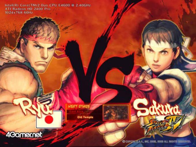 Street Fighter IV Benchmark