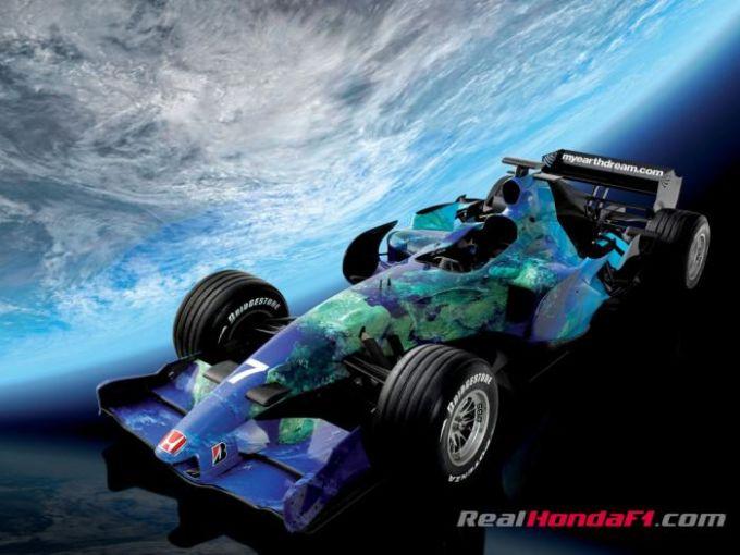 Honda RA107 F1