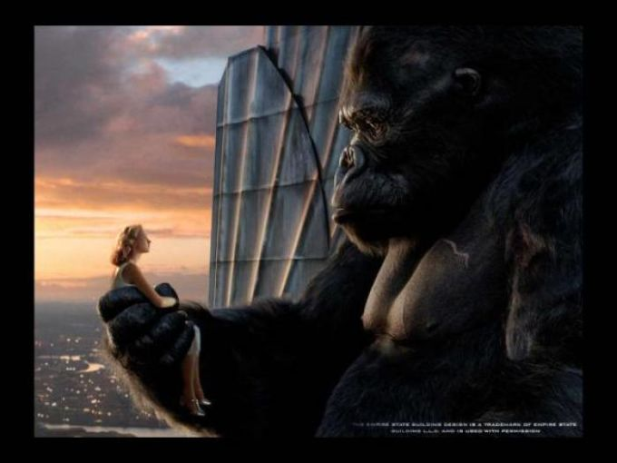 King Kong Screensaver