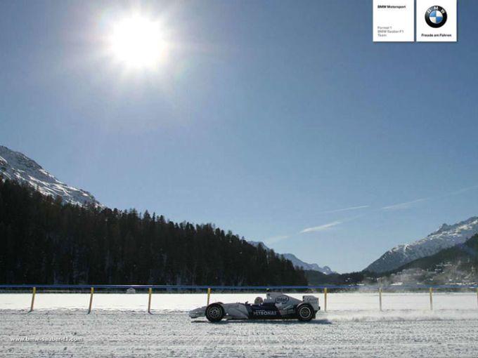 BMW-Sauber Formel-Eins-Wallpaper