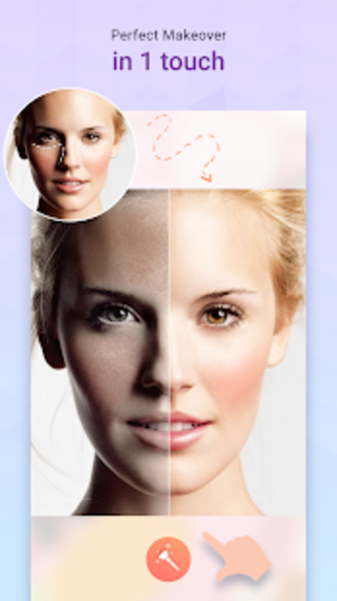 Taha Plus Face Makeup Camera Photo Makeup Editor