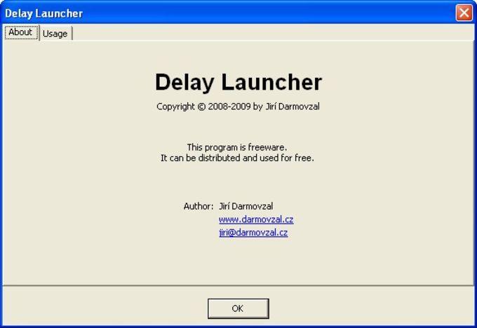 Delay Launcher