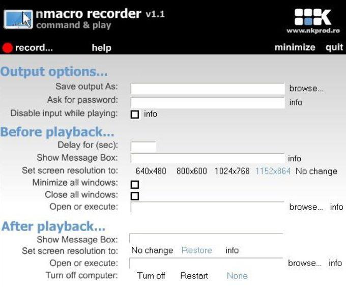 nMacro Recorder