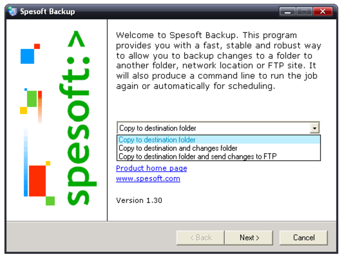Spesoft Backup